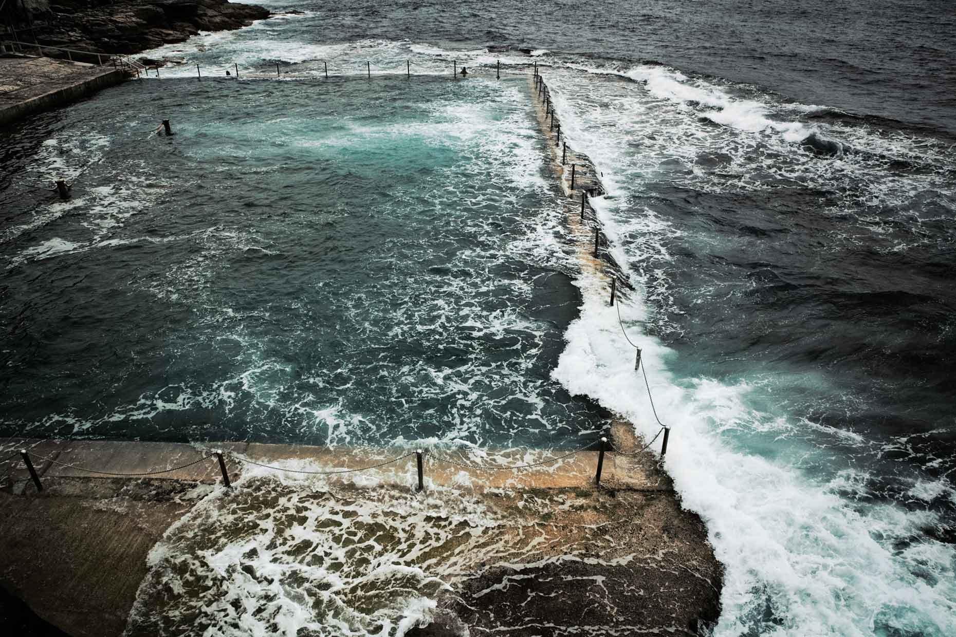 Tidal pool Australia