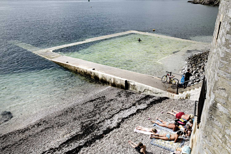 tidal pools England