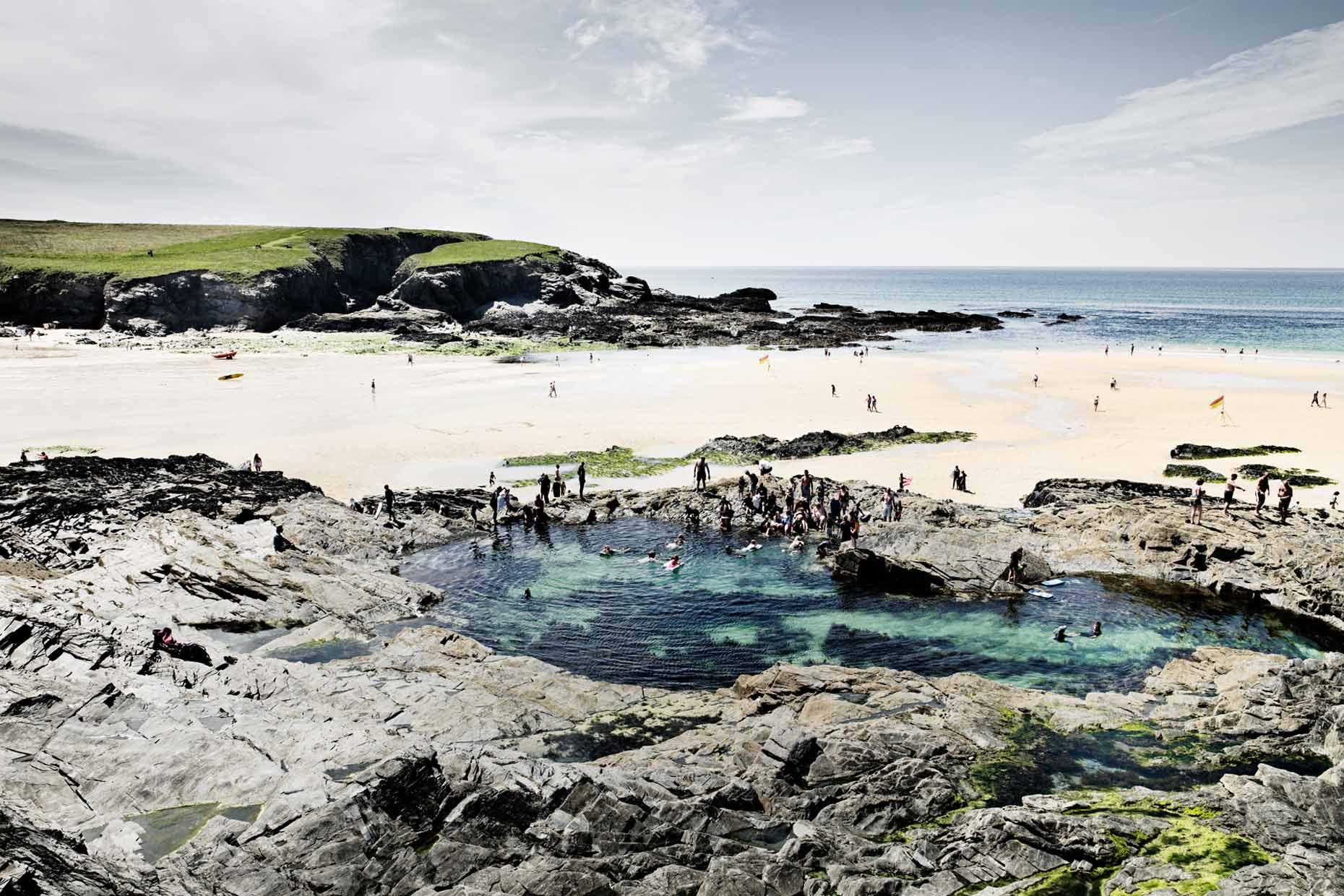 Tidal pool England