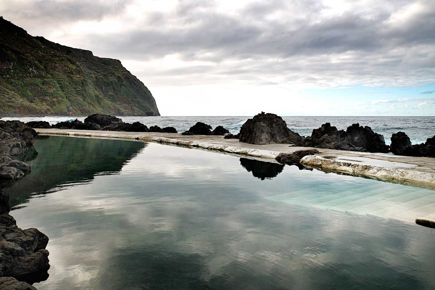 tidal pools Madeira