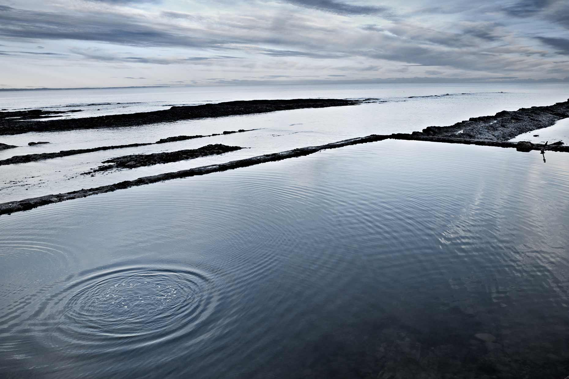Tidal pool Scotland