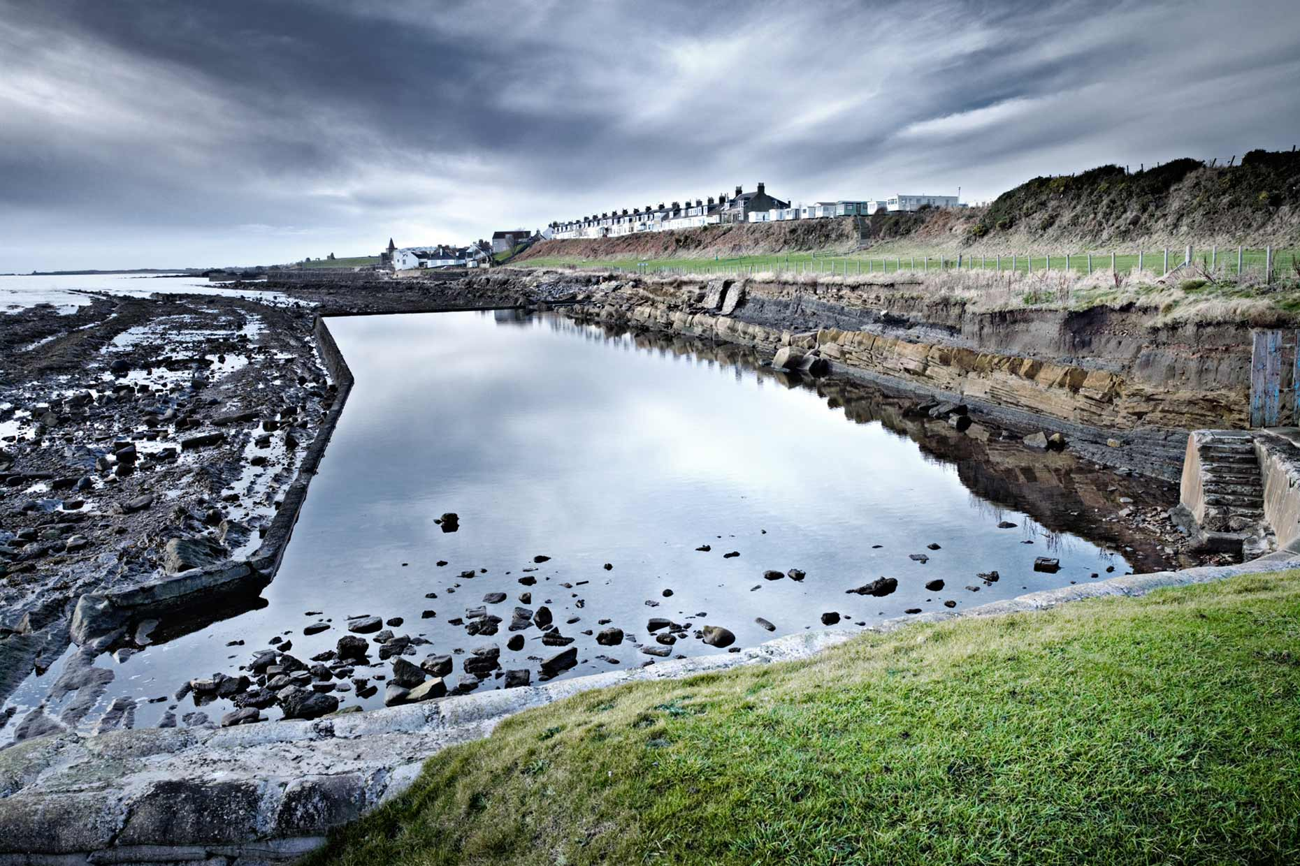 Tidal pool Scotland