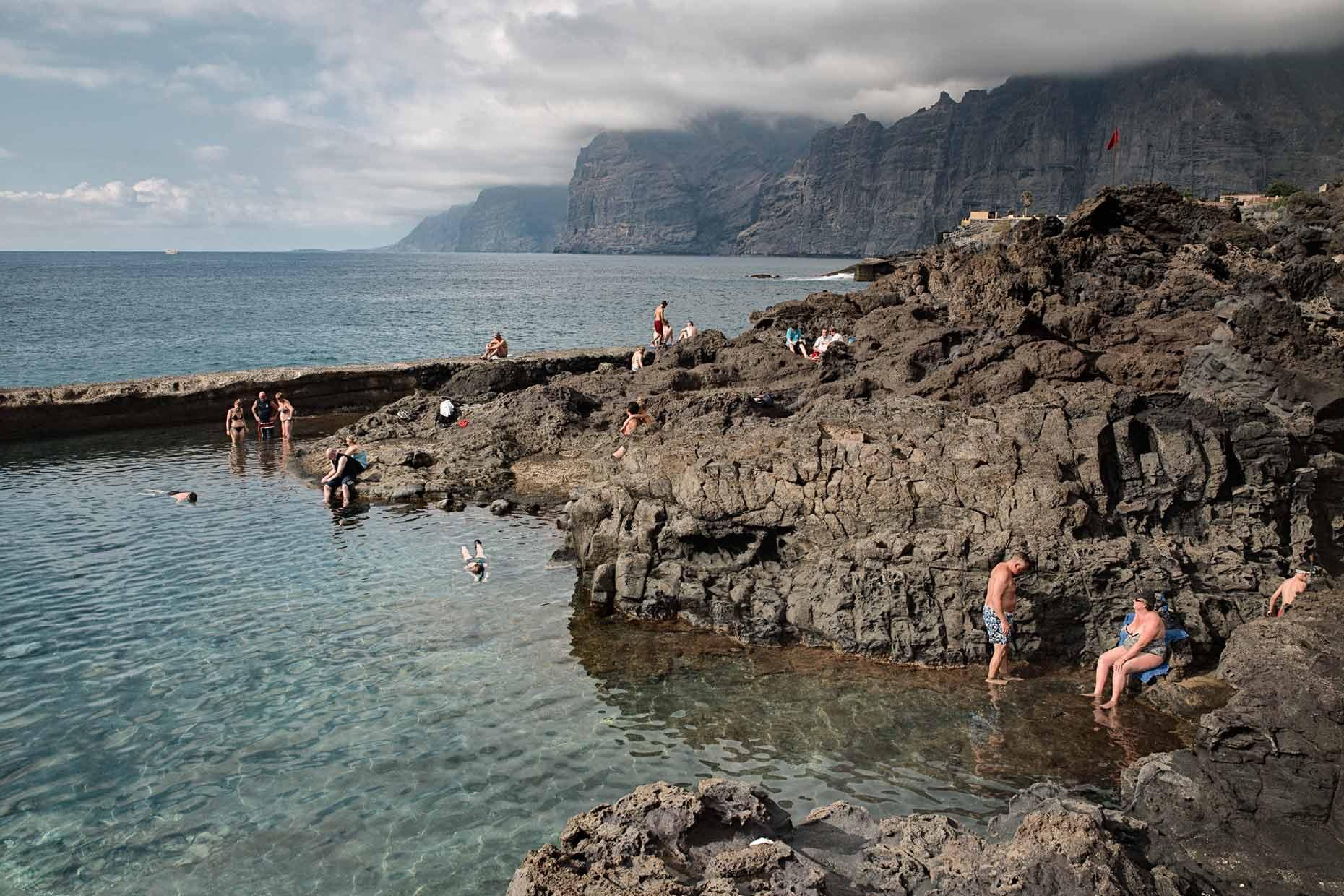 Tidal pool Spain