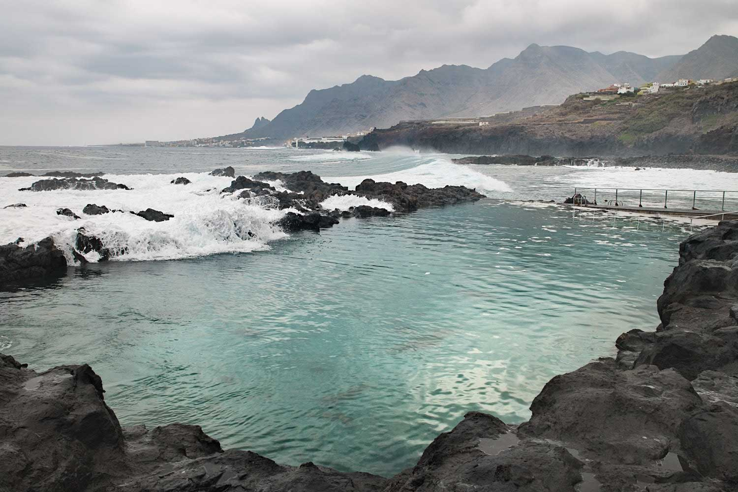 tidal pools Tenerife