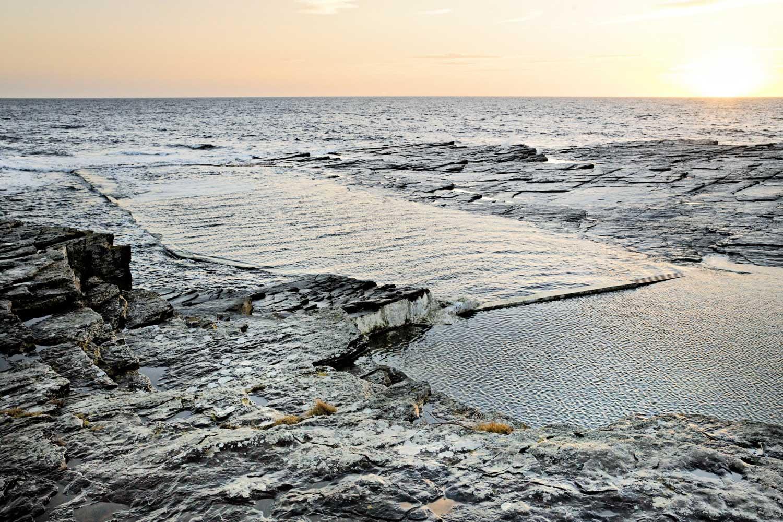 tidal pools Scotland
