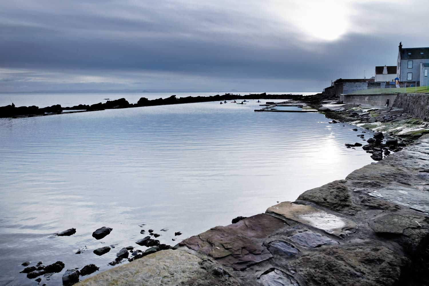 tidal pools Scotland